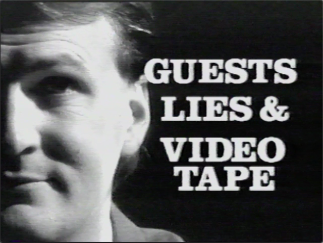 Guest, Lies & Videotape – The Pilot?